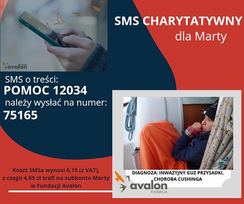 SMS charytatywny dla Marty